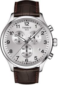 Reloj Tissot Chrono Xl T1166171603700 Piel Café De Caballero