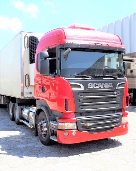 Scania R 480 6x2 Highline Opticruise 2012 / 2012 Único Dono