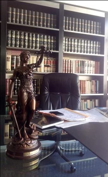 Estatua De La Justicia - Petit Bronce- Ideal Regalo - 23 Cm