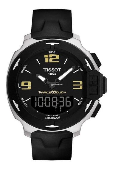 Relogio Tissot T-race Touch T0814201705700 Preto/amarelo