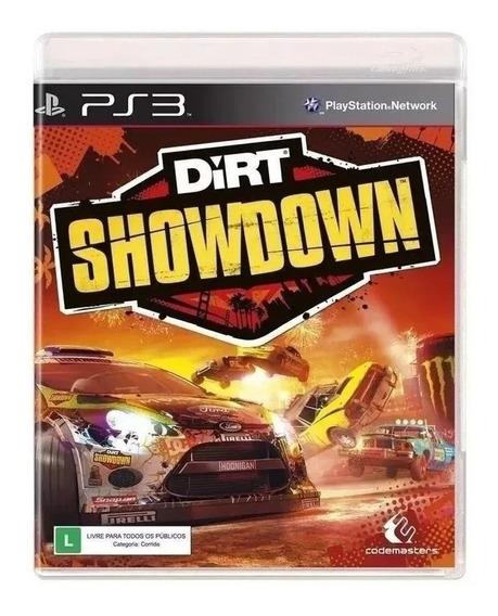 Game Dirt Showdown - Ps3