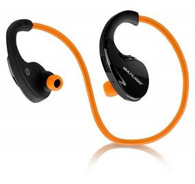 Fone De Ouvido Arco Sport Multilaser Bluetooth Laranja Ph185