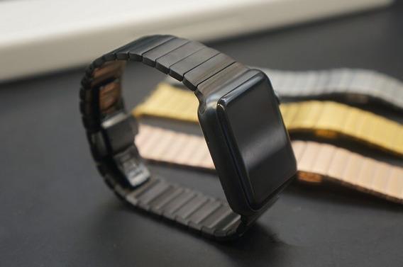Pulseira Em Aço Inox Elos Para O Apple Watch 1 2 3 4 5