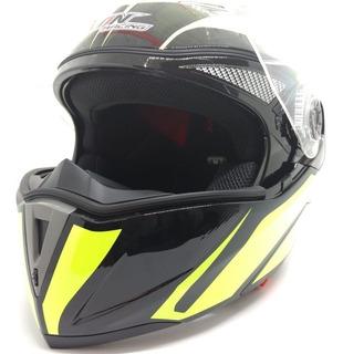 Casco Motocicleta Abatible Talla Mediana Cas 7101 1451b