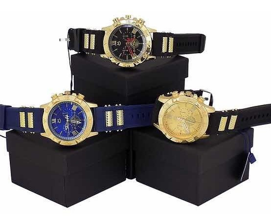 Kit 3 Relógios Spaceman Super Promoção!