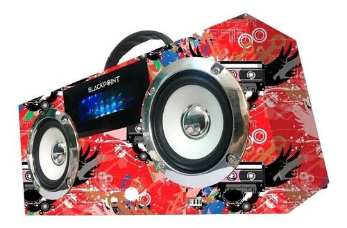 Parlante Portatil Recargable S33 Conexión Bt Usb Tf Radio Fm
