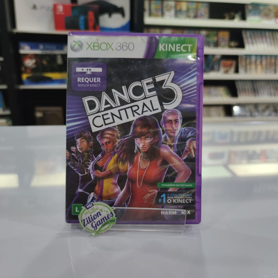 Dance Central 3 Kinect Xbox 360 - Completo