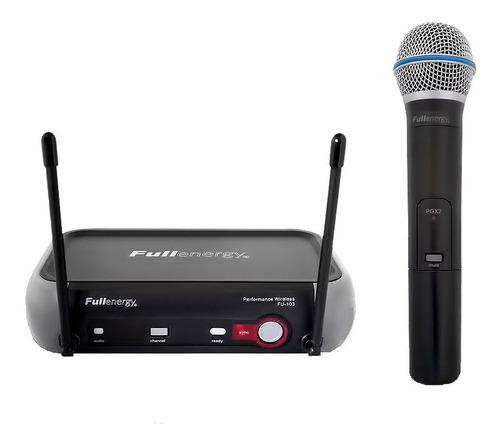 Microfóno Inalámbrico Uhf Simple Profesional