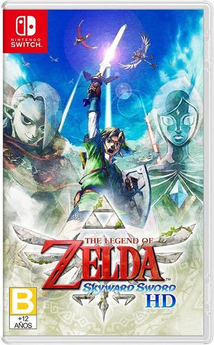 ..:: The Legend Of Zelda Skyward Sword Hd ::.. Switch