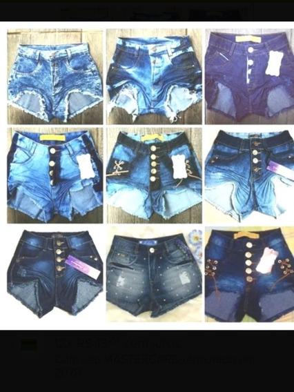 2 Shorts Cintura Alta