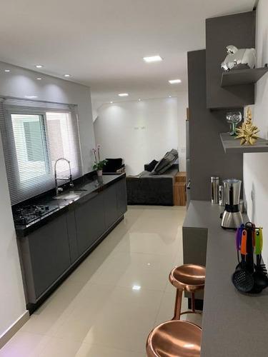 Cobertura Com 2 Dormitórios À Venda, 112 M² Por R$ 490.000,00 - Parque Das Nações - Santo André/sp - Co0775