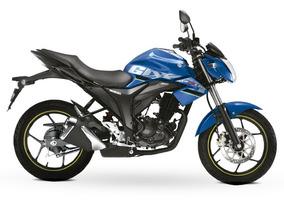 Suzuki Gixxer Bitono Azul 2018