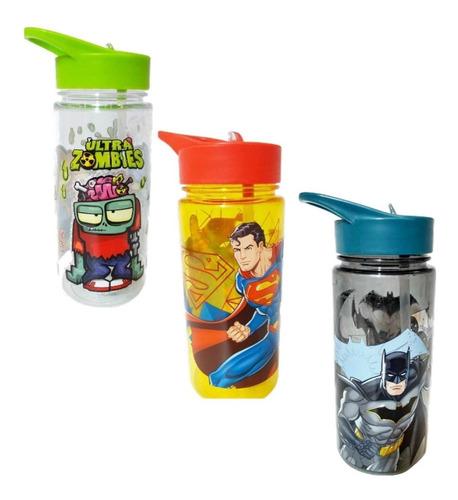 Vaso Sorbete Superman Zombies O Batman Ct Plumitaa Bnn