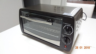 Forno Tostador Ft90-b2 800w 9 Litros Black&decker 220 Volts