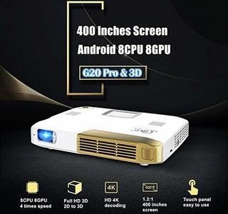 Octa Core Projector,deeirao Yroid4.4 Portable 3d Dlp Hom ©