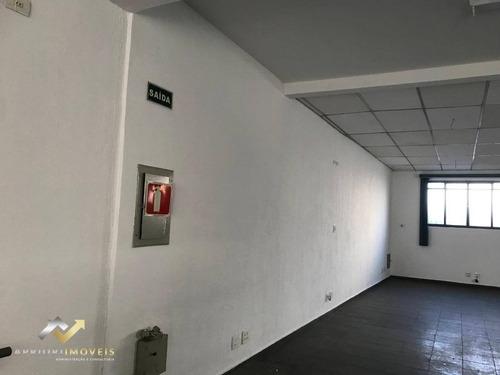 Sala Para Alugar, 200 M² Por R$ 3.000,00/mês - Vila Pires - Santo André/sp - Sa0133