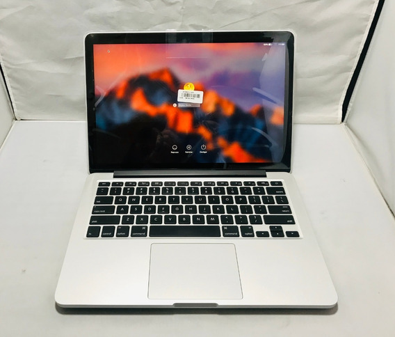 Macbook Pro I5 2.7ghz/8gb 1867mhz/ssd 256gb Mod A1502/2015