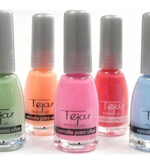 12 Esmalte De Uñas Tejar Variedad De Colores Lefemme
