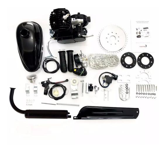 Kit Motor Para Bicicleta 80cc Completo Original Importway O Melhor Do Ml Bike Trike Kart