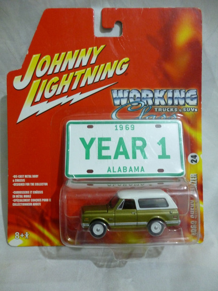 Johnny Lightning 1969 Chevy Blazer - J P Cars