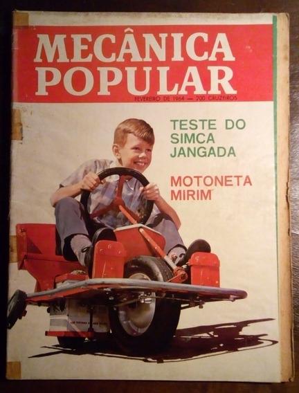 Mecânica Popular Volume 50 Fevereiro 1964