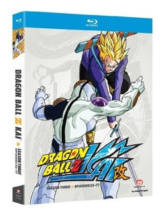 Blu-ray : Seb - Dragon Ball Z Kai: Season 3 (boxed Set)