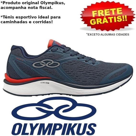 Tênis Masculino Olympikus Pride 2 Corrida Original Com Nota
