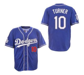 Camiseta Casaca Baseball Mlb Los Angeles Dodgers Mod. 1