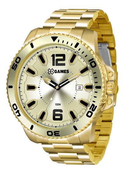 Relógio Xgames Xmgs1019 C2kx Masculino Champagne - Refinado