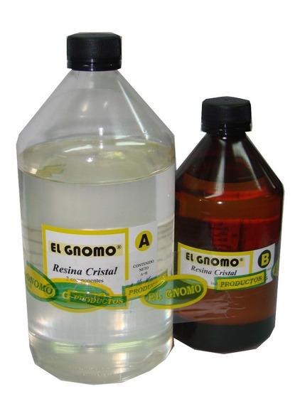 Resina Epoxi Cristal Vidrio Liquido Cristal Liquido X 750 Gr