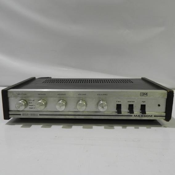 Amplificador De Som Maxsom Sm 660 - Funcionando **usado**