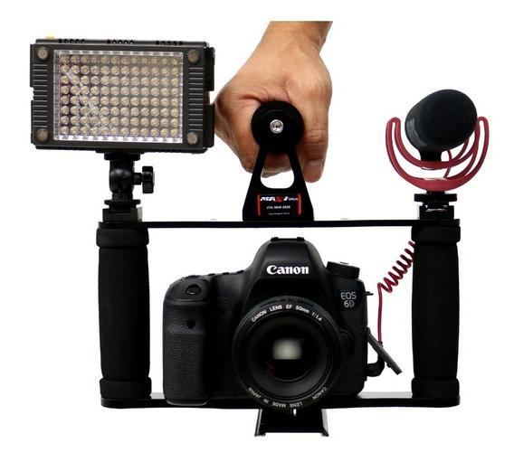 Estabilizador Cage Gaiola Canon Nikon Etc