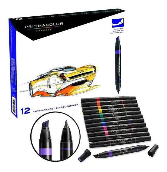 Set 12 Marcadores Prismacolor Premier Promoción + Obsequio