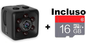 Mini Camera Espiã Sq 11 Visão Noturna 1080p 16 Gb