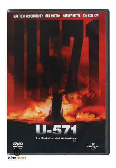 U-571 La Batalla Del Atlántico Pelicula Dvd