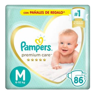 Pañales Pampers Premium Care Mensual Todos Los Talles