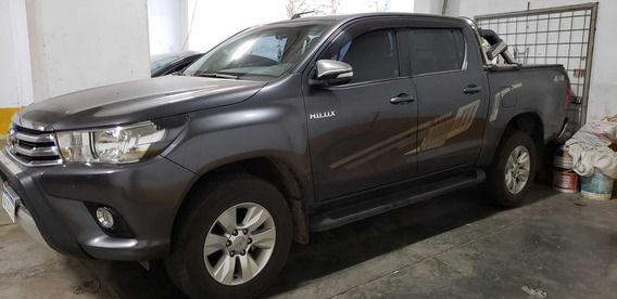 Toyota Hilux Srv Full Cd 4x4 Tm 2.8 - 1º Mano Con Fc ¨a¨