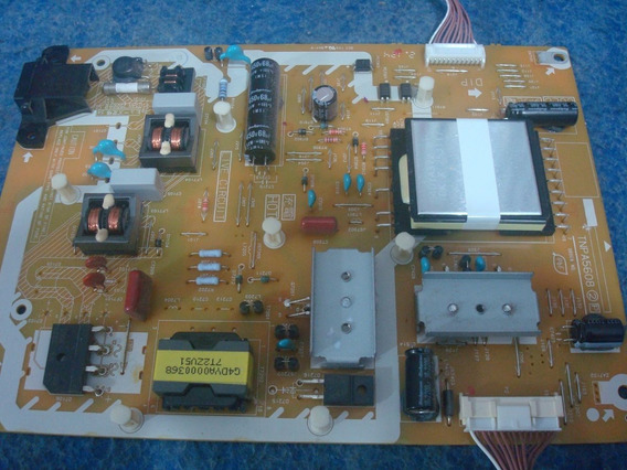 Placa Da Fonte Tv Panasonic Modelo Tc- L42e5bg