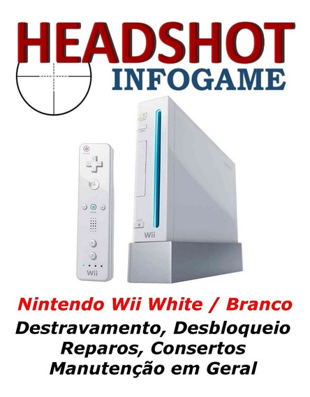 Consertos Manutenção Reparos Para Nintendo Wii White Branco