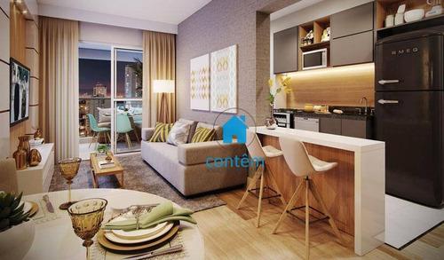 Imagem 1 de 30 de Condomínio Reserva Jardins Do Brasil Apartamento Com 2 Dormitórios À Venda, 67 M² Por R$ 525.010 - Centro - Osasco/sp - Ap2430
