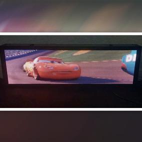 Painel De Led P5 De 100 X 40cm Full Color Vídeos Interno Rgb