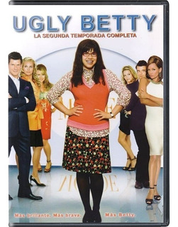 The Ugly Betty La Fea Temporadas 1 Uno 2 Dos Y 4 Cuatro Dvd
