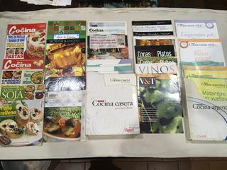 Lote De 42 Revistas Y Fascículos De Cocina De Diversos Temas