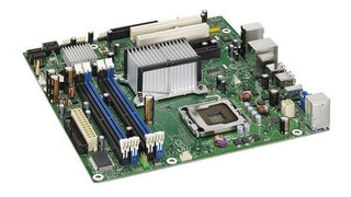 Placa Madre Intel Dg33bu, Lga 775 + Core 2 Duo 2.4 + Cooler
