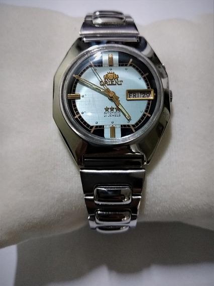 Orient Watch Vintage Automático Original Baixei + Brinde