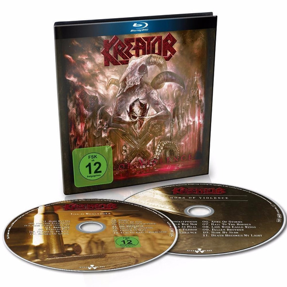Kreator - Gods Of Violence Cd + Blu-ray Digibook