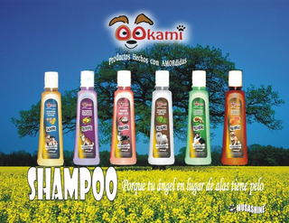 Shampoo Para Mascotas Con Esencias Naturales 500 Ml.