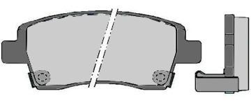 Pastillas De Freno Lpr Toyota Etios 2012/.... Sistema Akenob