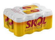 Cerveja Skol Pilsen 350ml Pack 12 Latas