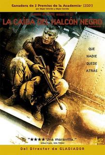 Dvd - La Caida Del Halcon Negro